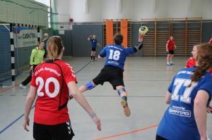 2017-02-25 Rangsdorf - HSG Frauen 1